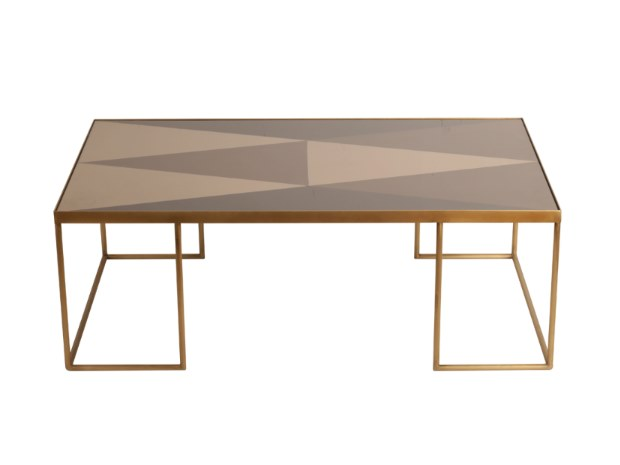 Rectangular glass coffee table GEOMETRIC COFFEE TABLE | Rectangular coffee table by Notre Monde