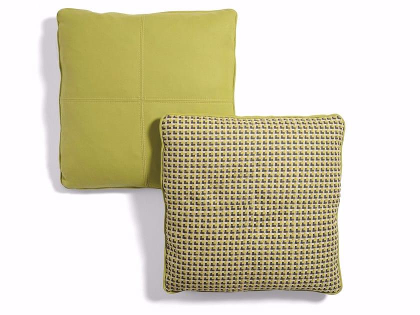 Geometric fabric sofa cushion Geometric cushion by CTS SALOTTI