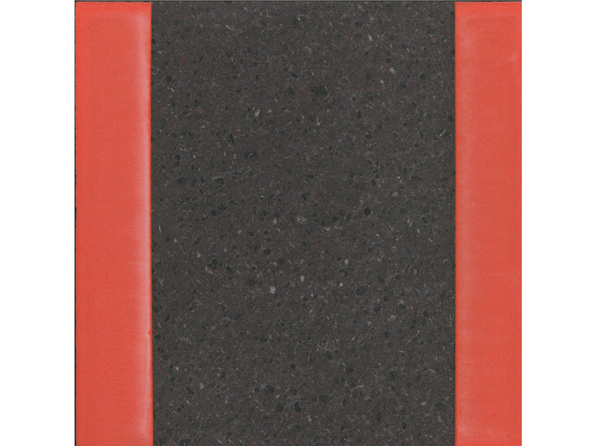 Lava stone wall/floor tiles GEOMETRIE G10 by Made a Mano