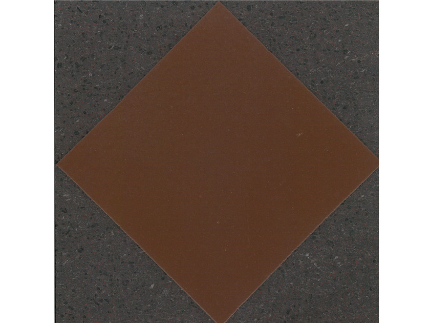Lava stone wall/floor tiles GEOMETRIE G12 by Made a Mano