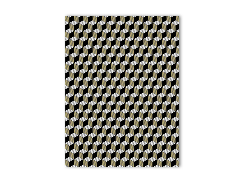 Print on paper GEOMETRIK 6 by Funky Milk