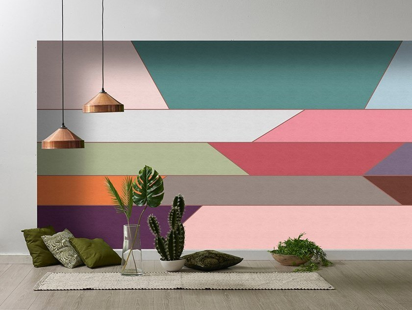Washable Digital printing wallpaper GEOMETRY by Architects Paper