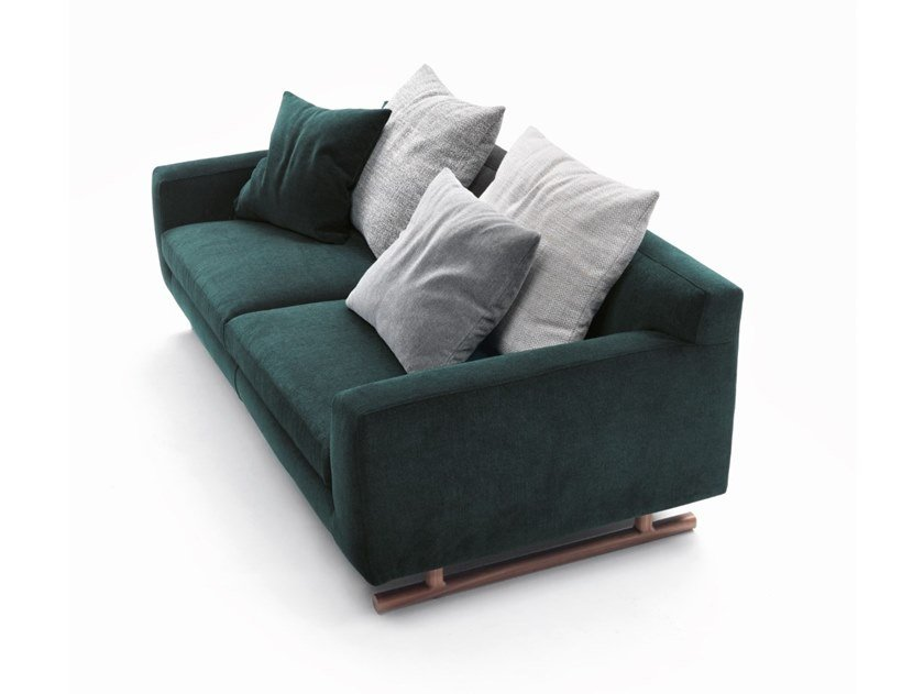 2 seater fabric sofa with removable cover GEORGE | 2 seater sofa by Marac