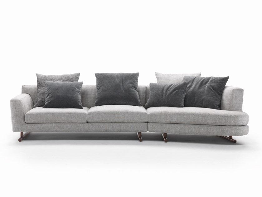 3 Seater Fabric Sofa With Removable Cover George By Marac