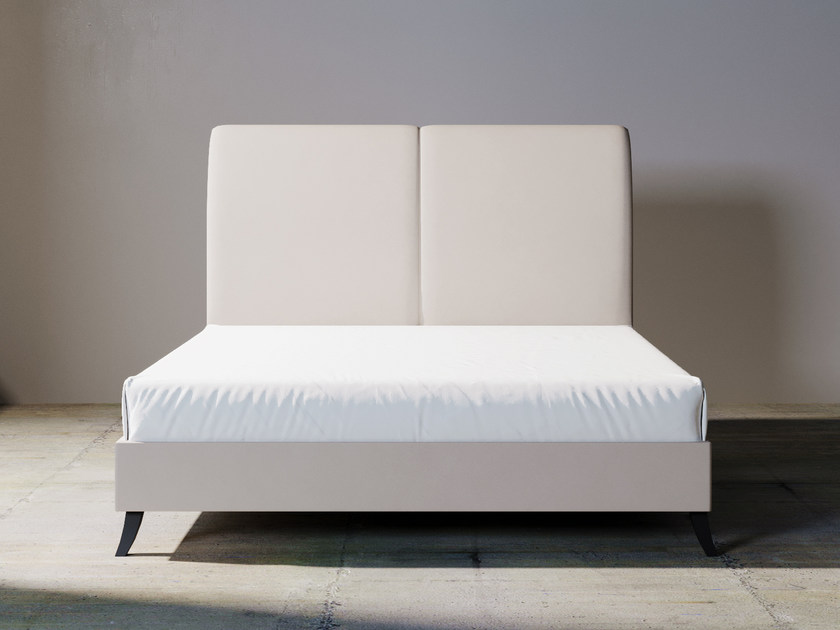 Fabric double bed with upholstered headboard GEORGE by ITALIANELEMENTS