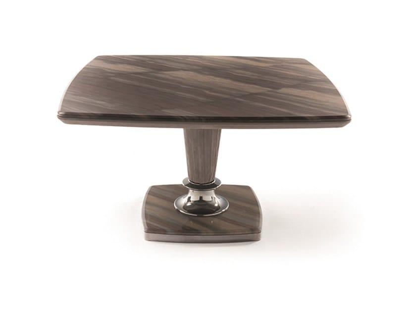 Tavolo quadrato in marmo GEORGE | Tavolo quadrato by Longhi