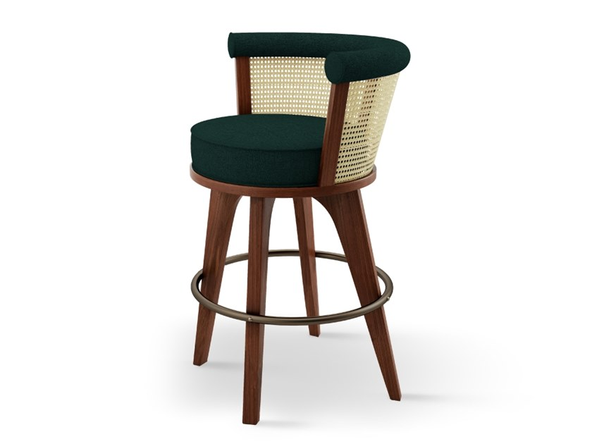 Stool with back GEORGE | Stool by Wood Tailors Club