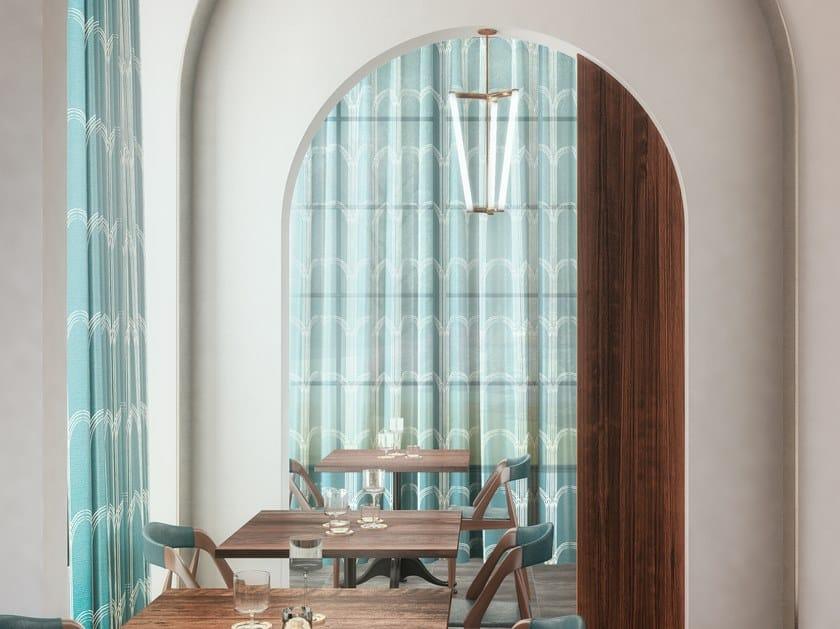 Tende In Tessuto Georgette : Tessuto in trevira® cs per tende portici collezione textile project