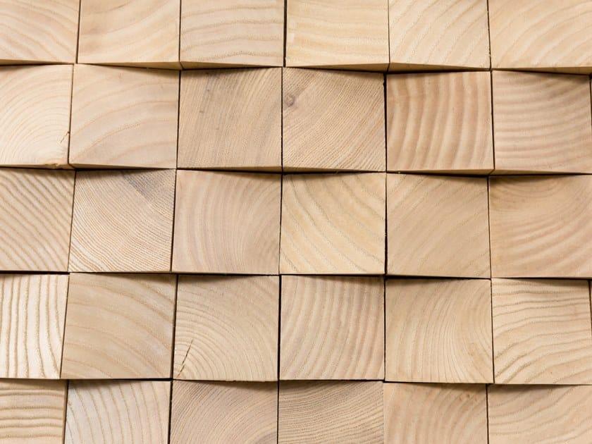 Modular wooden 3D Wall Cladding GEORGIA V1 by NEXT LEVEL DESIGN STUDIO
