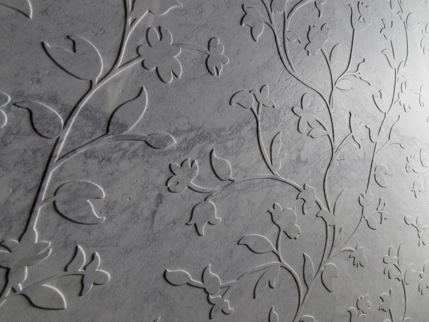Carrara marble wall tiles GERMOGLI by Palazzo Morelli