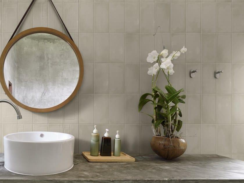 Rivestimento in ceramica bicottura GESSO AR by Imola