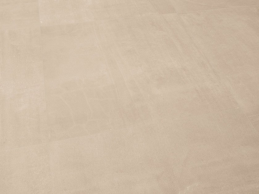 Indoor porcelain stoneware wall/floor tiles GESSO TAUPE LINEN by Provenza by Emilgroup