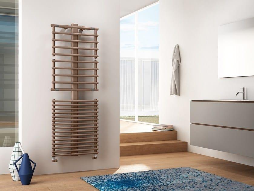 Wall-mounted steel towel warmer GET UP   Towel warmer by IRSAP