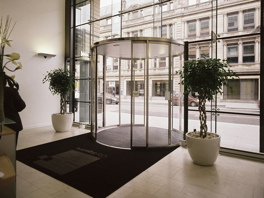 Sliding Automatic entry door GEZE SLIMDRIVE SCR / SCR-FR by GEZE