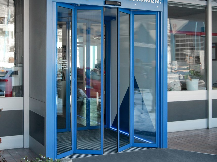 Sliding Automatic entry door GEZE SLIMDRIVE SF / SF-FR by GEZE