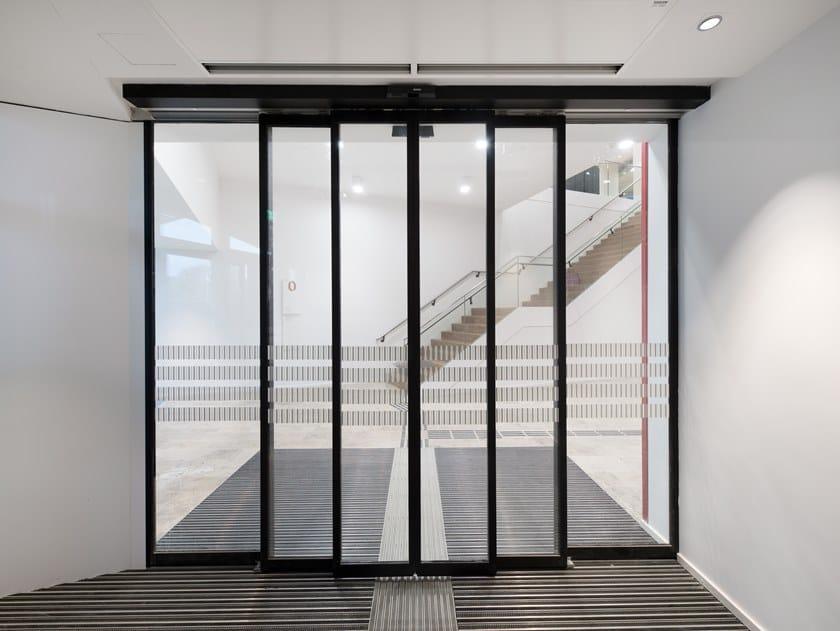 Sliding Automatic entry door GEZE SLIMDRIVE SLT / SLT FR by GEZE
