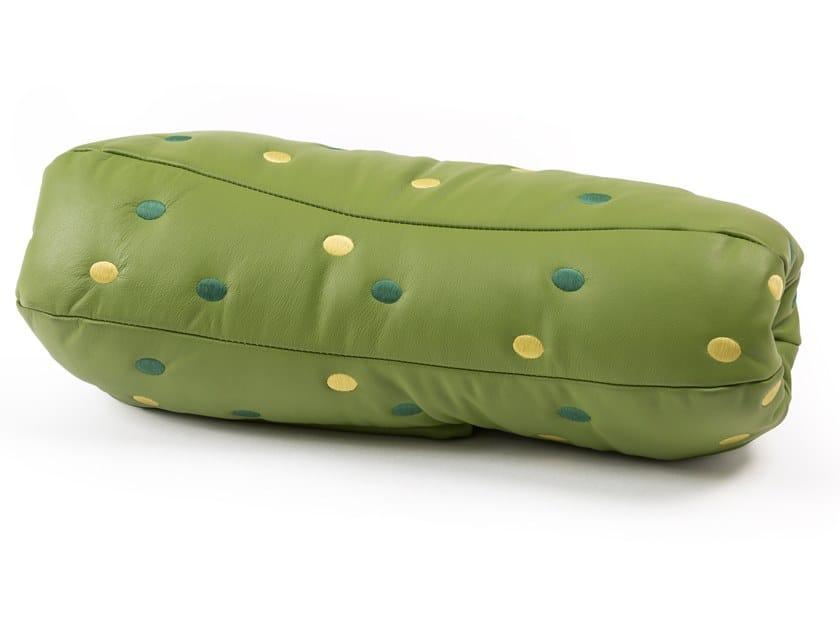 Cuscino cilindrico in tessuto GHERKIN by Seletti