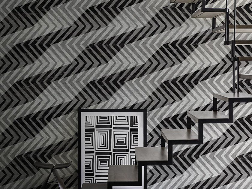 Optical wallpaper GERSHWIN by Wall&decò