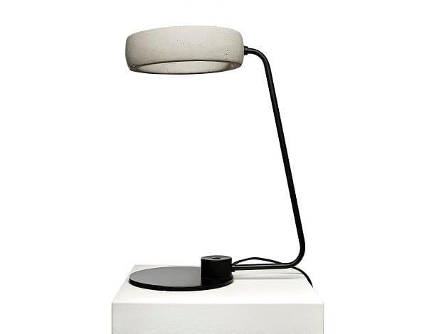 Concrete table lamp GHETTO T by URBI et ORBI