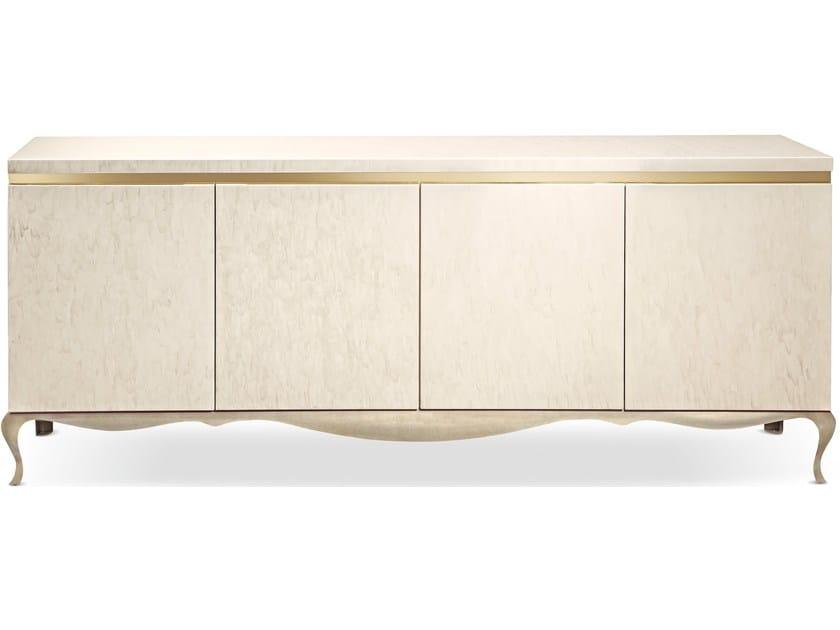 Wooden sideboard with doors GHIRIGORI | Sideboard by Cantori