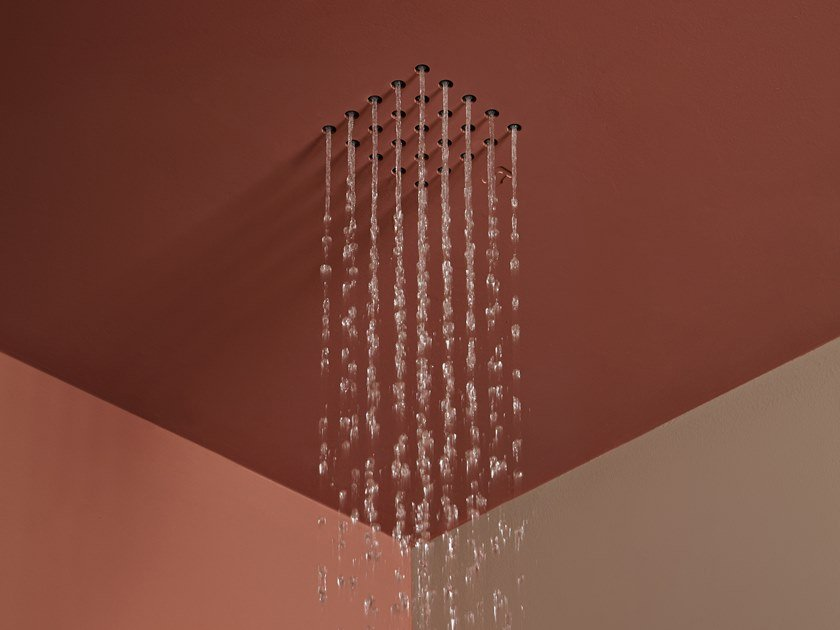 Ceiling mounted built-in overhead shower GHOST by Antonio Lupi Design