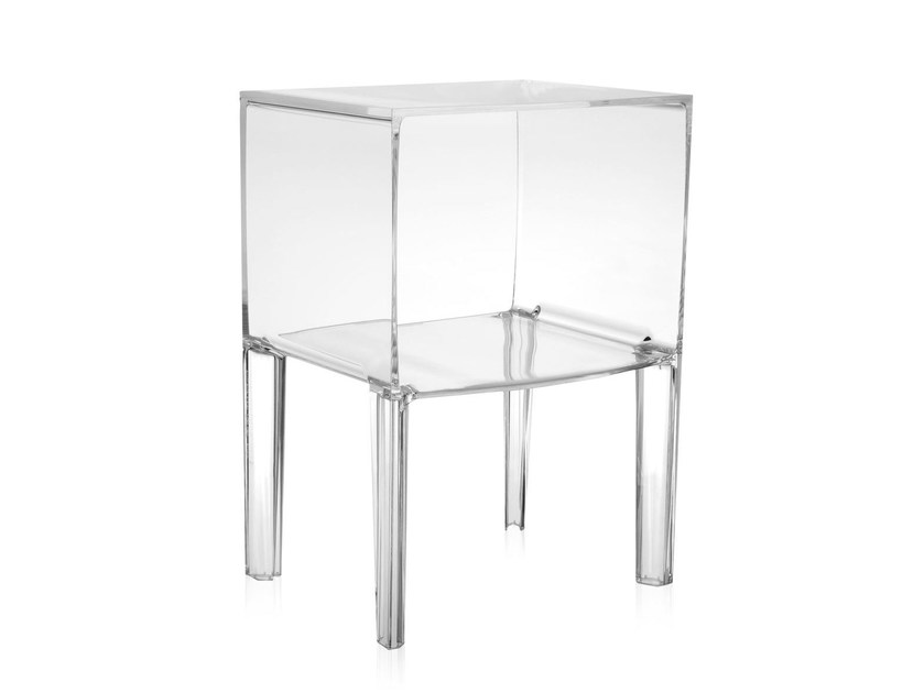 GHOST BUSTER | Table de nuit en PMMA Collection Ghost By Kartell ...