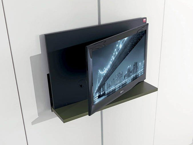 Mobile tv girevole a scomparsa ghost by fimar - Porta televisore ikea ...
