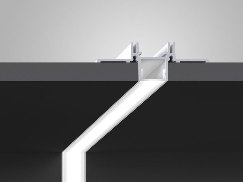 Aluminium Linear lighting profile GHOST LINE 4011 by Olev