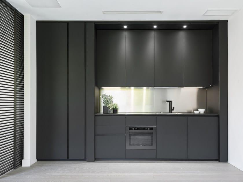 Cucina a scomparsa in Fenix-NTM® GHOST SYSTEM Collezione Ghost ...