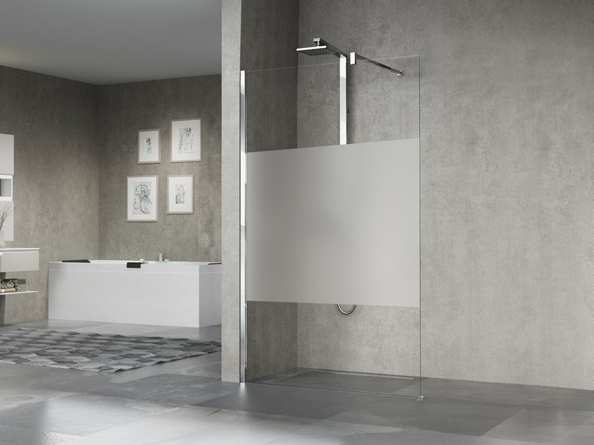 Glass shower cabin GIADA H by NOVELLINI