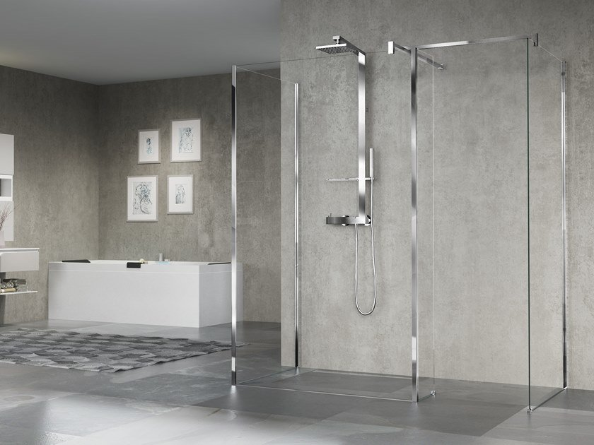 Glass shower cabin GIADA H10 by NOVELLINI
