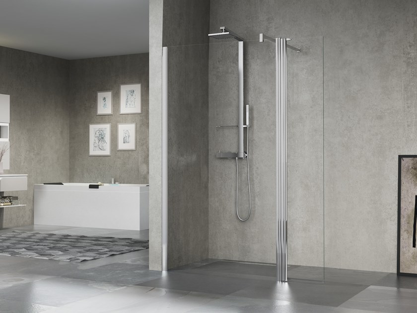 Glass shower cabin GIADA H11 by NOVELLINI
