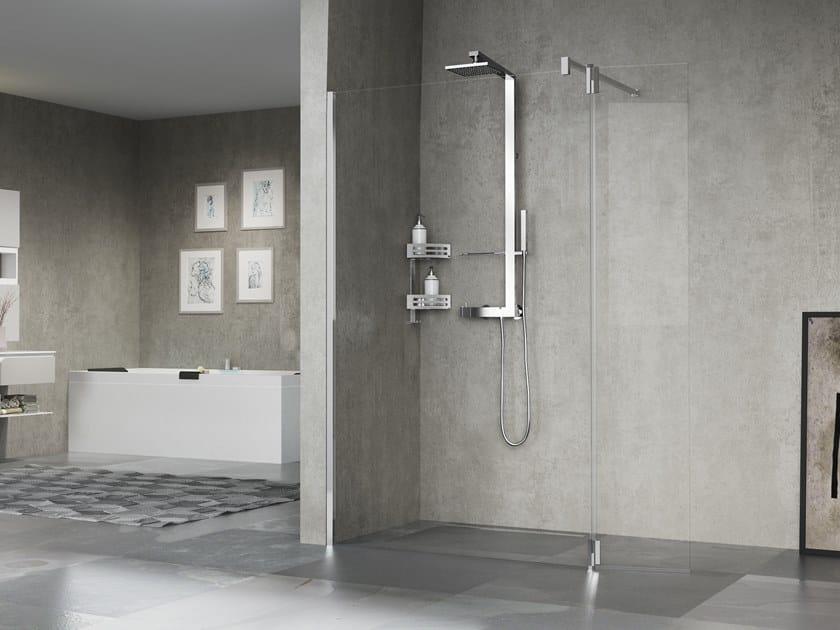 Glass shower cabin GIADA H2 by NOVELLINI