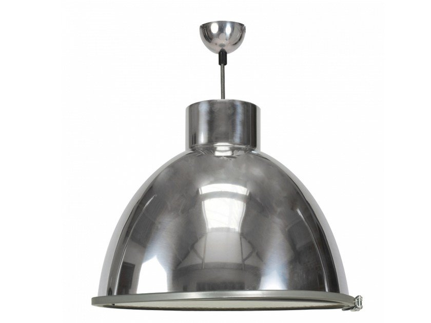 Glass and aluminium pendant lamp with dimmer GIANT 2 by Original BTC