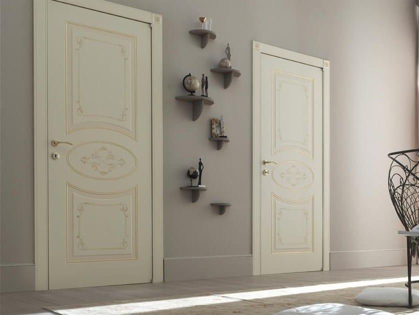 Hinged lacquered door GIGLIO by Door 2000