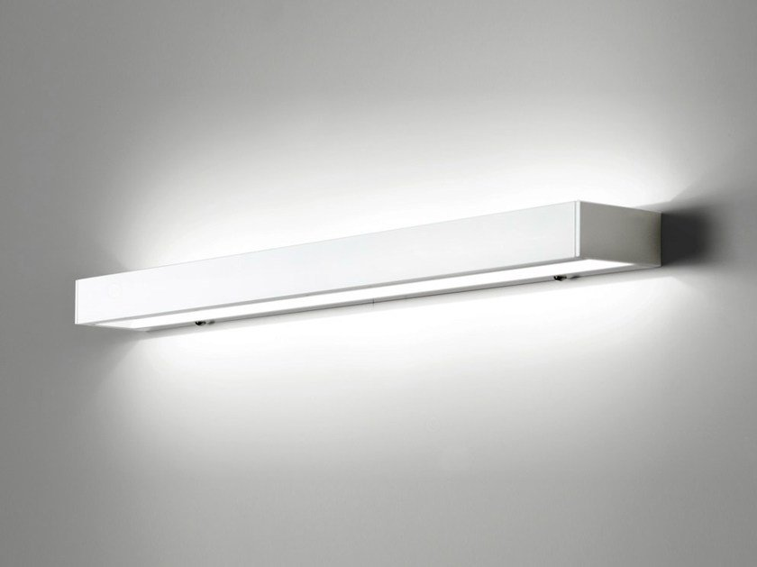 LED direct-indirect light wall light with dimmer GIL 6458 by Milan Iluminacion