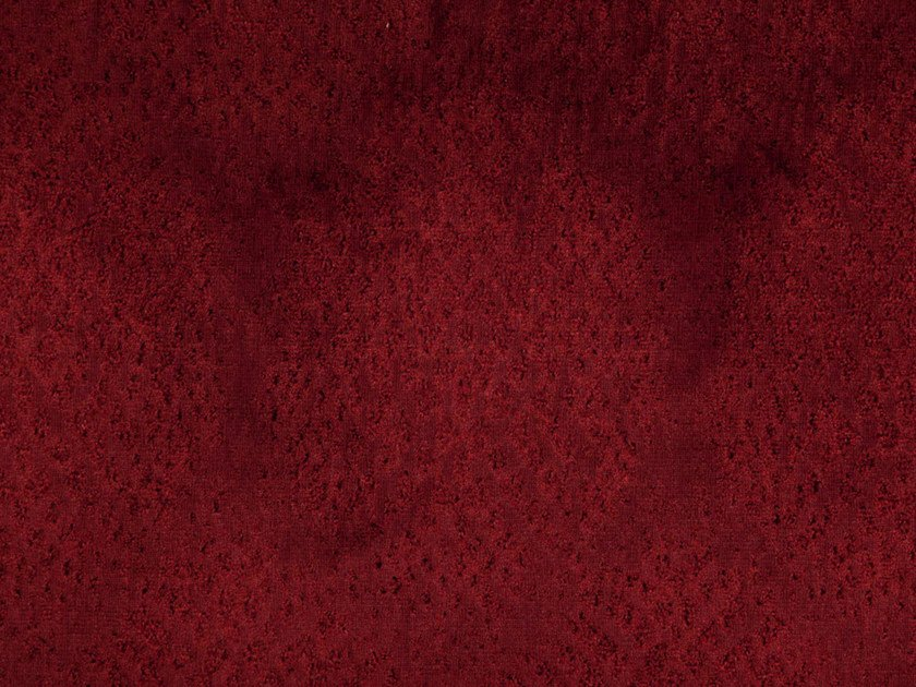 Velvet and polyester fabric with graphic pattern GILDA by FR-One