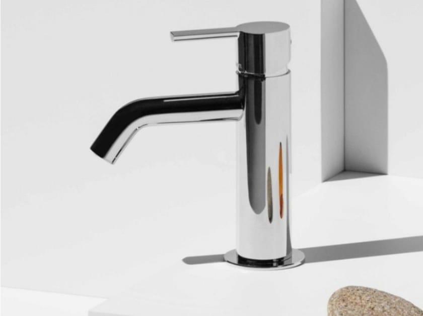 Miscelatore per lavabo da piano monocomando in ottone GILL ZGL707 by ZUCCHETTI