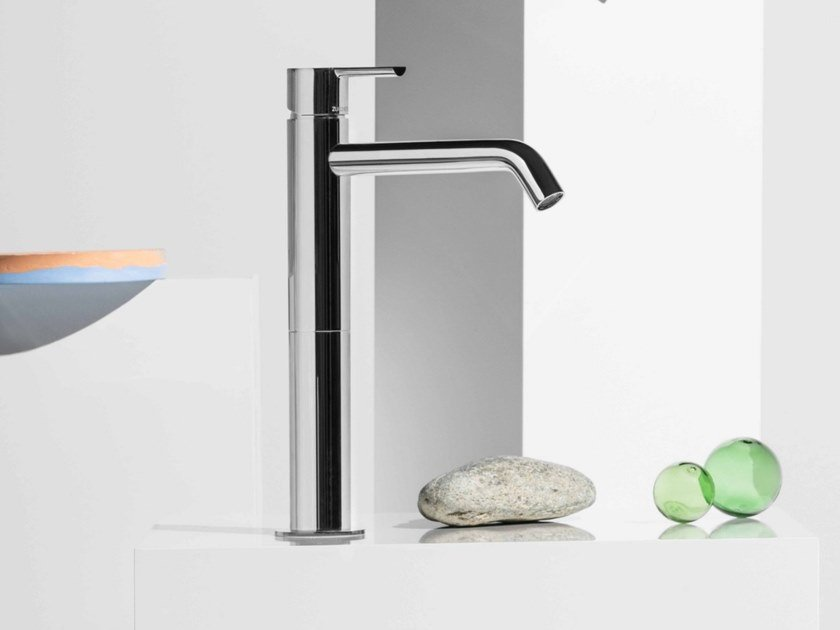 Miscelatore per lavabo da piano monocomando in ottone GILL ZGL709 by ZUCCHETTI