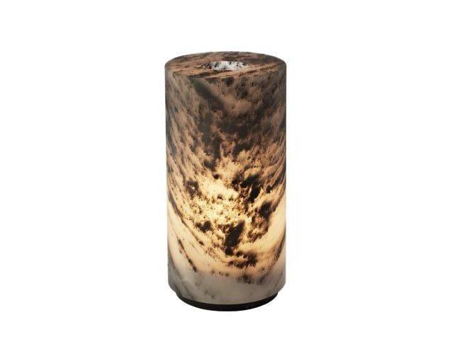 Lampada da tavolo in marmo GILLES CAFFIER | Lampada da tavolo in marmo by CFOC