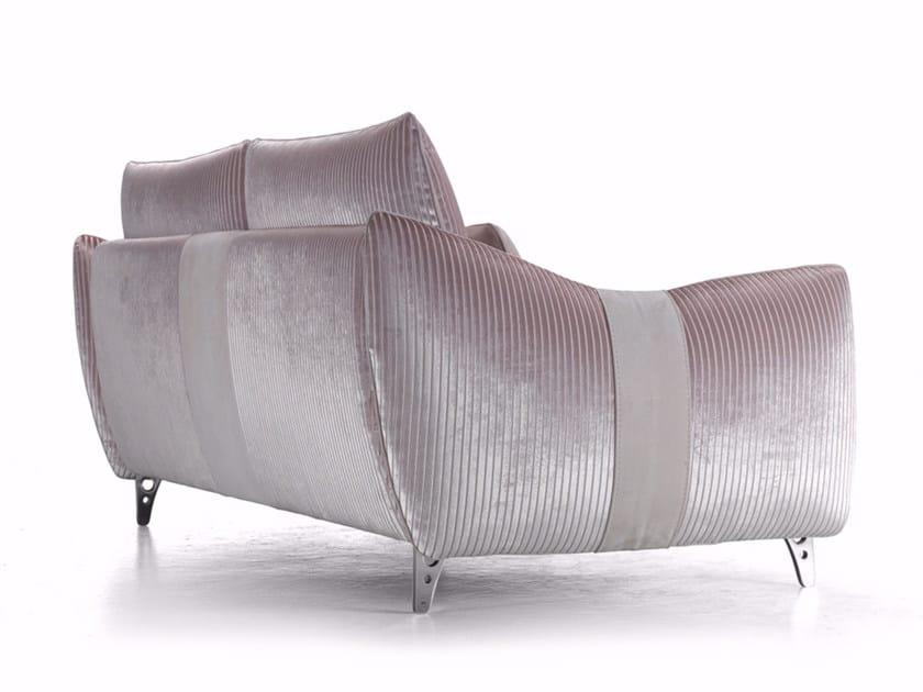 2 seater fabric sofa GILLES | Fabric sofa by Borzalino