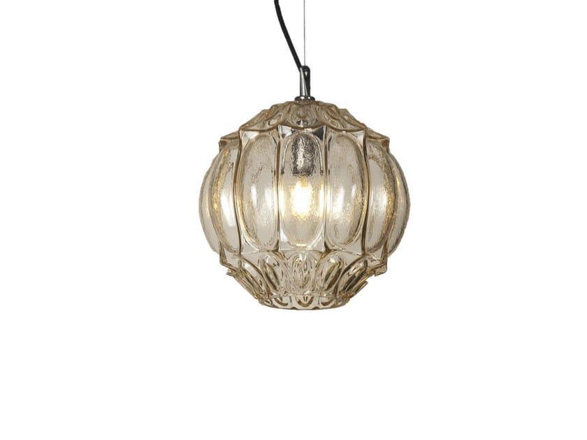 Glass pendant lamp GINGER   2 by Karman