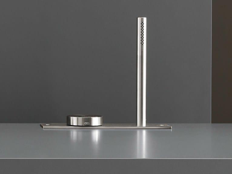 Hydroprogressive bathtub mixer with hand shower GIO 27 by Ceadesign