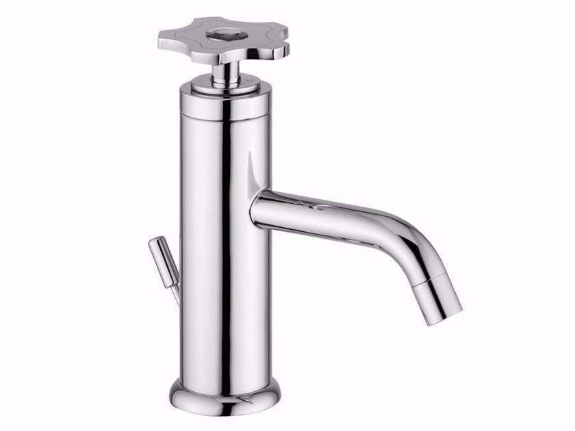 Countertop single handle 1 hole washbasin tap GIÒ CRYSTAL - GIÒ - F3505A/S by Rubinetteria Giulini