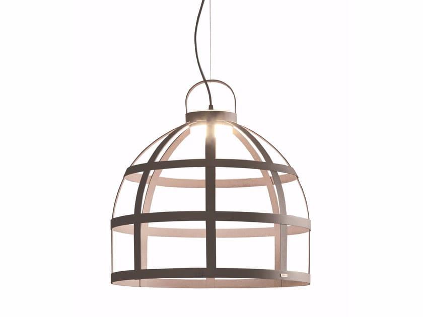 LED steel pendant lamp GIOCONDA   Pendant lamp by Gibas
