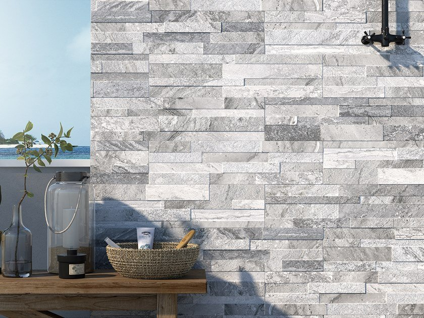 Indoor/outdoor 3D Wall Tile GIOIA by Ceramica Rondine