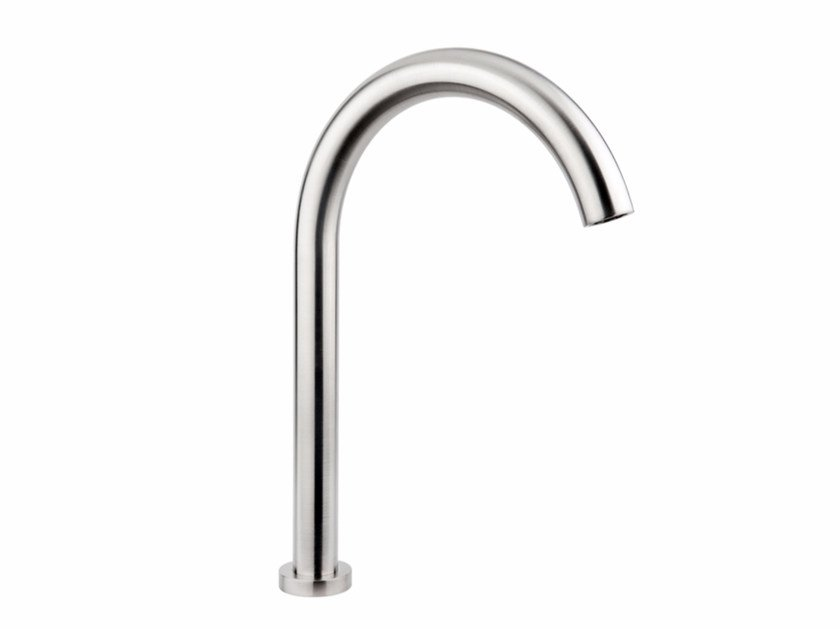 Deck-mounted stainless steel sink spout GIOTTO G2610 by MINA