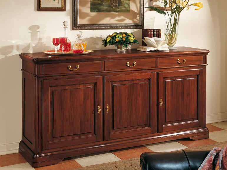 Solid wood sideboard with drawers GIOTTO | Solid wood sideboard by Arvestyle