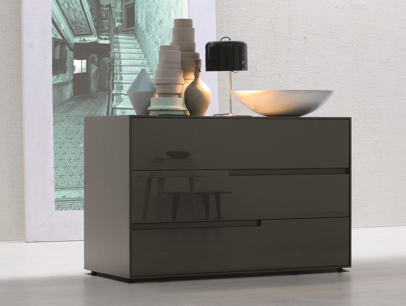 Melamine-faced chipboard chest of drawers GIOVE   Chest of drawers by Febal Casa