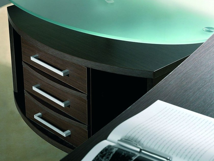 Wooden office drawer unit GIOVE GAL by Arcadia